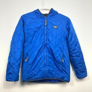 LL Bean Recycled Polyester Primaloft Packaway Coat